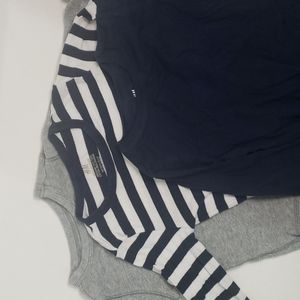 5/$30 H&M OLD NAVY Thermal and Organic Long Sleeve Bundle